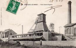 2386. CPA 71 MONTCEAU LES MINES. PUITS SAINTE EUGENIE. MINES - Montceau Les Mines