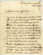BELAGERUNG VON LANDAU 1702 - Spanischer Erbfolgekrieg - Historischer Brief - Lorraine Thüngen Ragotzky - Documentos Históricos