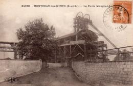 2390. CPA 71 MONTCEAU LES MINES. LE PUITS MAUGRAND. - Montceau Les Mines