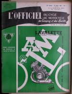 L'officiel Du Cycle Du Motocycle Et Du Camping - N° 7 Mars 1958 - Un Scooter électrique à Trois Roues - Motorfietsen