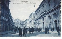 ITALIA - CALTANISETTA - Corso Umberto L°, Ben Animata, Primi 900 - 2016-173 - Caltanissetta