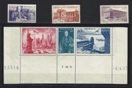 "Monaco Aérien YT 22 à 27 (PA 22 à 27) "" Expo New York "" 1947 Neuf ** - Aéreo"