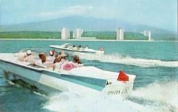 By Glider - Motor Boat - Pitsunda - Abkhazia - 1970 - Georgia USSR - Unused - Géorgie