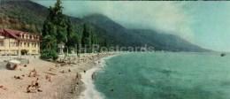 Beach - Gagra - Abkhazia - Caucasus - 1966 - Georgia USSR - Unused - Géorgie