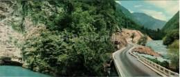 The Road To The Lake Ritsa . At The Blue Lake - Caucasus - 1966 - Georgia USSR - Unused - Géorgie