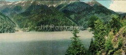The Lake Ritsa - Caucasus - 1966 - Georgia USSR - Unused - Géorgie