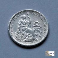 Perú - 1 Dinero - 1907 - Perú
