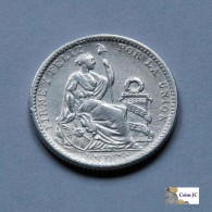 Perú - 1 Dinero - 1907 - Peru