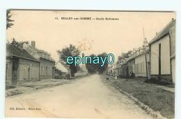B - 80 - BELLOY SUR SOMME - PRIX FIXE - Route Nationale - édition Belizaire  & Ouin - France