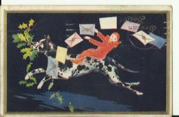 BO188   --  WEIHNACHTEN,  PERE NOEL, CHRISTMAS  --  DALMATIAN DOG  --  1940 - Non Classificati