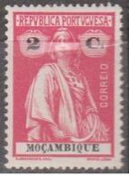 MOÇAMBIQUE - 1914,  Tipo «CERES»  2 C.  D.15 X 14   Pap. Porc.   ** MNH  Afinsa  Nº 157 - Mozambique