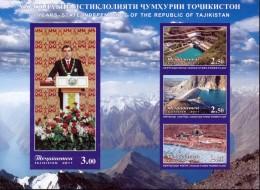 TAJIKISTAN - 2011 - Mi BL. 61B - 20th ANNIVERSARY OF TAJIKISTAN IMPERFORATED - MNH ** - Tajikistan