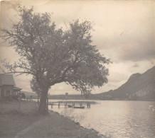74-ANNECY- PHOTO DU LAC D'ANNECY - 1935 - Lieux
