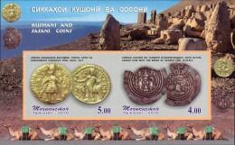 TAJIKISTAN - 2010 - Mi BL. 58B - ANCIENT COINS IMPERFORATED - MNH ** - Tajikistan