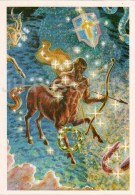 Sagittarius - Scutum - Shield - Constellations - Zodiac - Astronomy - 1983 - Russia USSR - Unused - Astronomia