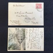 1904, JAPAN. KOBE - PARIS - MARSEILLE - Kobe