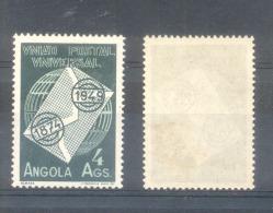 ANGOLA - AÑO 1949 - 75 ANIVERSARIO DE LA UNION POSTAL UNIVERSAL YVERT NR. 322 MH - Angola