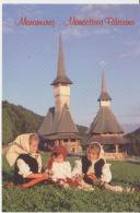 Maramures Barsana Monastery Wooden Church - Unused,perfect Shape - Europe