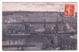 BREST  PORT DE GUERRE CASERNE DU 2è DEPOT - Brest