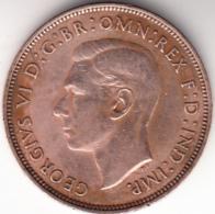 GRAN BRETAÑA 1938.  UN  PENIQUE   (ONE  PENNY   ) GEORGE VI. MBC+   . CN4432 - 1902-1971 : Monedas Post-Victorianas