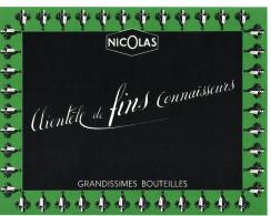 Publicité Années 50 - Vins NICOLAS - Affichette 17X22 Cm - Affiches
