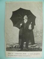 """P6/186-Litho - PUB Pour La BIÈRE """"GOUTTE D'OR"""" PARIS - Publicité"""