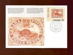 CANADA  1982 , International Philatelic Youth Exhibition - Maximum Card - First Day Toronto 85.V.24 - Maximumkaarten