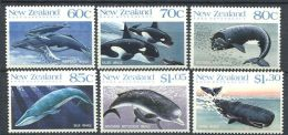 165 ROSS NOUVELLE ZELANDE 1988 - Yvert 21/26 - Mammifere Marin - Neuf ** (MNH) Sans Trace De Charniere - Neufs