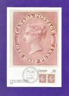 CANADA  1978 , Queen Victoria - Maximum Card - First Day Capex 78 - Toronto 12.VI.78 - Maximumkaarten