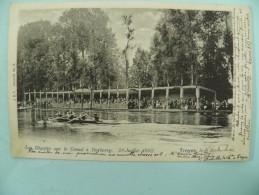 06/204-Troyes(Dep10) SPORTS- REGATES Canal à Barberey 20/07/1902  1° Tirage Vers 1900 Voy 1902 - Troyes