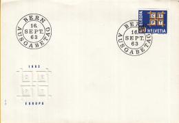 Zwitserland - FDC 16-9-1963 - Europa/CEPT - M 781 - Europa-CEPT