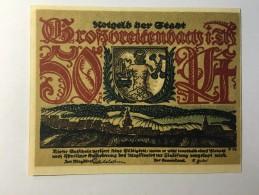 Allemagne Notgeld Grossbreitenbach 50 Pfennig 1921 NEUF - [ 3] 1918-1933 : République De Weimar
