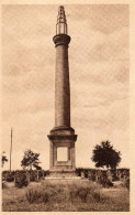 CPA PIERREPONT - LE CIMETIERE NATIONAL - LE MONUMENT - France