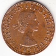 GRAN BRETAÑA 1962 ONE  PENNY  ELISABETH  II   EBC   CN 4432 - 1902-1971 : Monedas Post-Victorianas