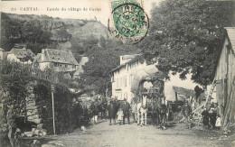 15 - CANTAL - Carlat - Entrée Du Village - Carlat