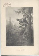 Coq De Bruyére /Gravure/ Déjeuner /Madame Meunier /1924     MENU176 - Menus