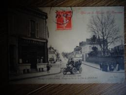 Course Automobile Circuit De La Sarthe 1906 Connerre PHARMACIE Farce  Cote De Duneau  D - Cartes Postales