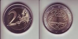 Germania - 2 Euro Commemorativo 2007 - Trattato Di Roma  Zecca J - Germania