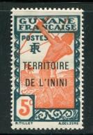 ININI- Y&T N°4- Neuf Sans Charnière ** - Unused Stamps
