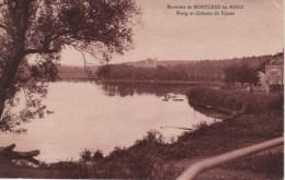 71-ENVIRONS DE MONTCEAU LES MINES-ETANG ET CHATEAU DU PLESSIS - Montceau Les Mines