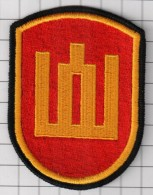 Ecusson / Patch / Toppa / Parche.  Lithuania. Europe. EU. Army. Ministry Of Defence - Scudetti In Tela