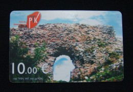 MEGA RARE KOSOVO 10 EURO CHIP CARD, PTK ND 2009, EXCELLENT QUALITY. LESS THEN 10 EXAMPLES KNOWN. - Kosovo