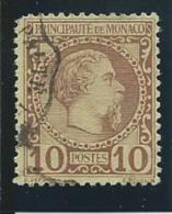 MONACO: Obl., N°4,  AB - Monaco
