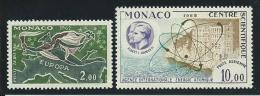 MONACO: **, PA N°79 Et 80, TB - Posta Aerea