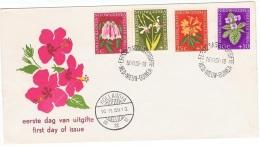 FLORA-L138 - NOUVELLE GUINEE NEERLANDAISE FDC FLEURS 1959 - Nouvelle Guinée Néerlandaise