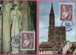 Le Musée Imaginaire 1970-71    - Lot De 5 Cartes 1er Jour - 1960-1969