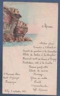 MENU EN COULEURS DATE DE 1951 A VICHY - 18.6 X 11 Cm - Menú