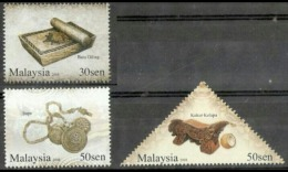 Cultural Instruments & Artifacts II Malaysia 2008 Artifact (stamp) MNH *odd *unusual - Malaysia (1964-...)