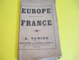 France / A Taride/ Cartes Automobiles, Cyclistes//Europe Centrale-Chemins De Fer-Lignes Navigation/Vers 1900 PGC115 - Cartes Géographiques