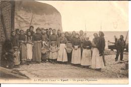 76. Yport, Un Groupe D'yportaises. - Yport